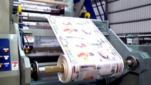 Printed film, bags, pouches, polyolefin, shrink packaging, shrink film