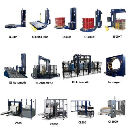 Lantech equipment portfolio.